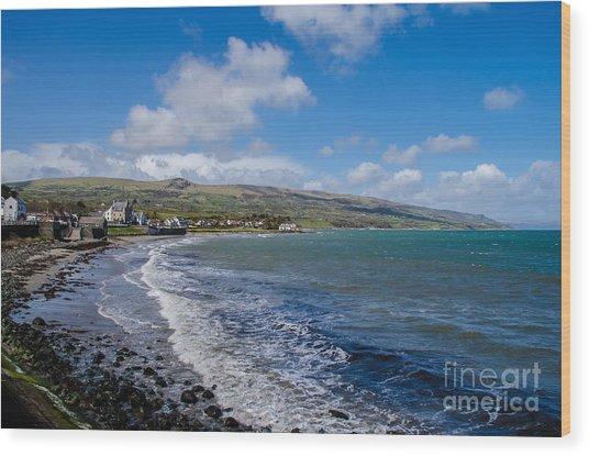 Northern Ireland Coast Wood Print
