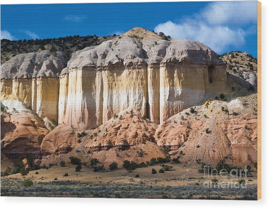 Northern New Mexico Wood Print