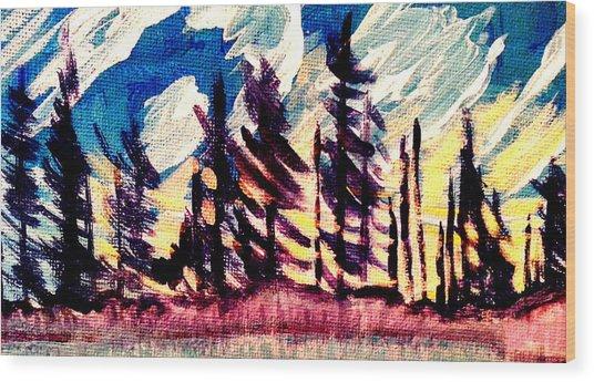 Northern Peace 2 Wood Print
