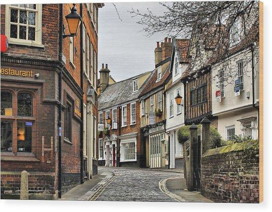Norwich Wood Print