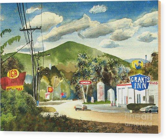 Nostalgia Arcadia Valley 1985  Wood Print