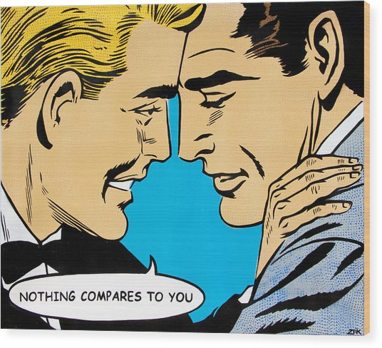 Nothing Compares To You Wood Print by Bobby Zeik