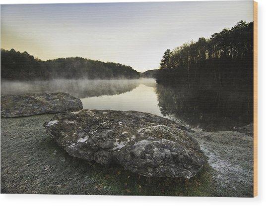 November Dawn Wood Print