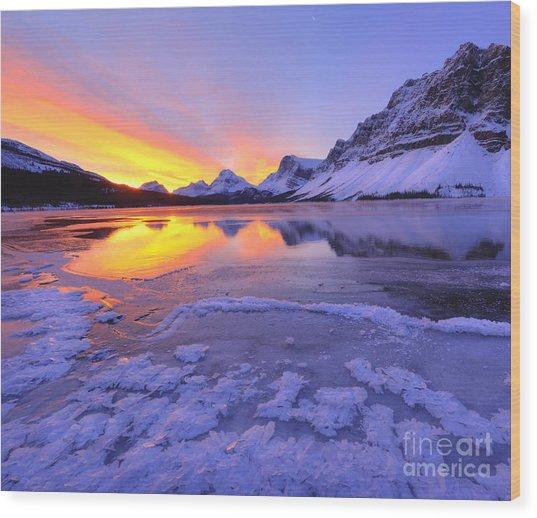 November Freeze 2 Wood Print by Dan Jurak