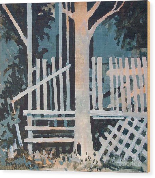 November Shadows Wood Print by Micheal Jones