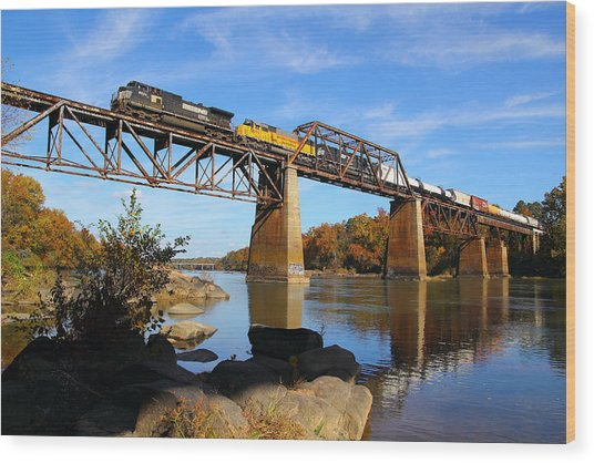 Ns Over The Congaree Wood Print