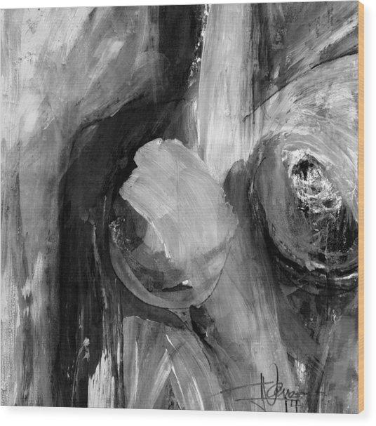 Nude E Wood Print