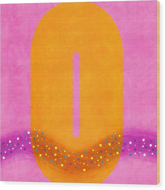 Number Zero Flotation Device Wood Print