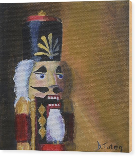 Nutcracker II Wood Print