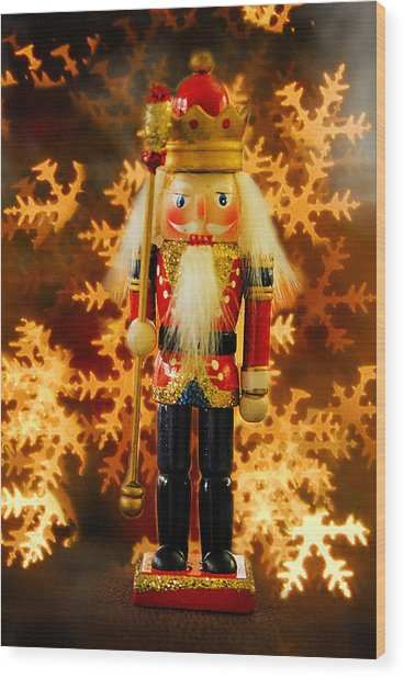 Nutcracker Wood Print
