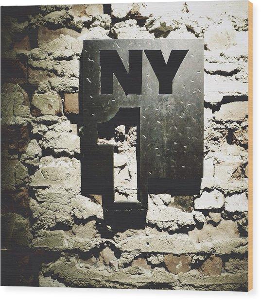 NY1 Wood Print