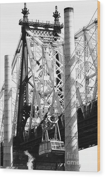 Nyc Queensboro Bridge Wood Print