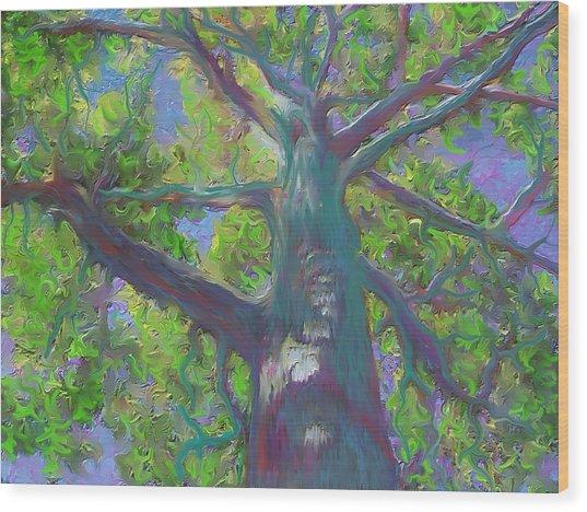 Oak Tree 1 Wood Print