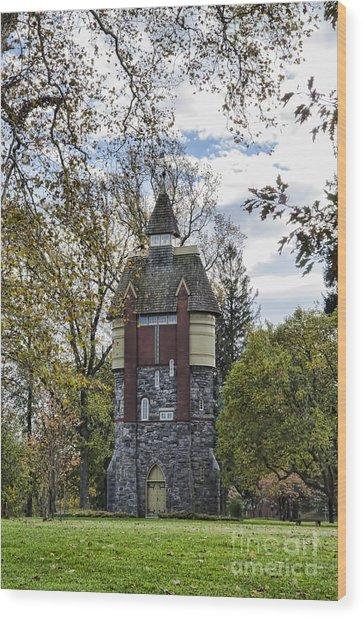 Oakbourne Tower Wood Print