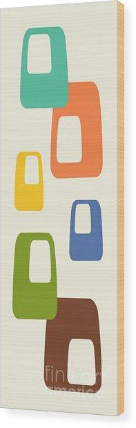 Oblongs Wood Print