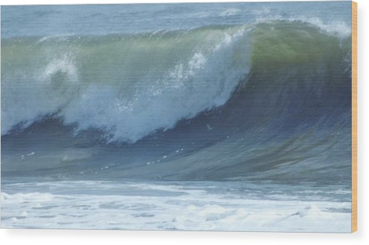 Oc Big Surf Wood Print