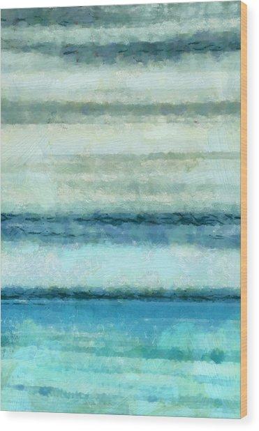 Ocean 4 Wood Print