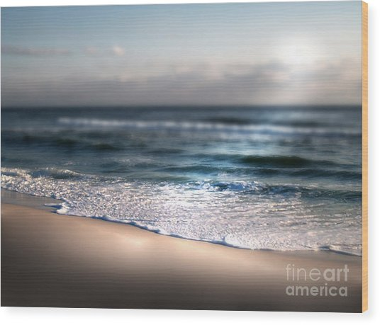 Ocean Blanket Wood Print by Jeffery Fagan