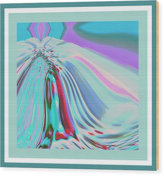 Ocean Deco - Ticker Symbol Jamn 7/5/2011 To 8/1/2011 Wood Print