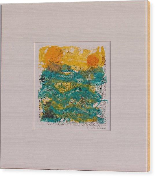 Ocean Dreams Wood Print