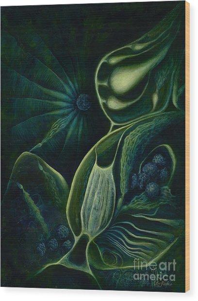 Ocean Mother Wood Print