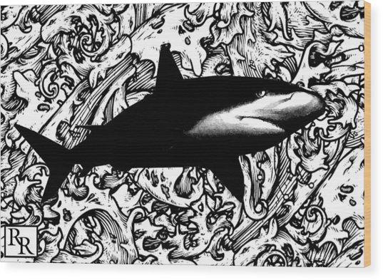 Ocean Surveyor - Prints By Robert Rodriguez Artist Wood Print