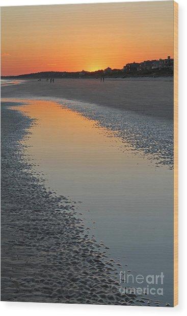 Ocean Tidal Pool Wood Print