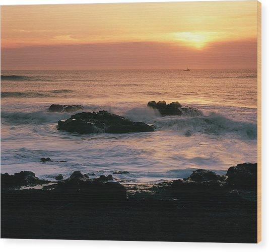 Ocean Tranquility  Wood Print