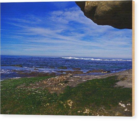 Ocean Welcome Wood Print