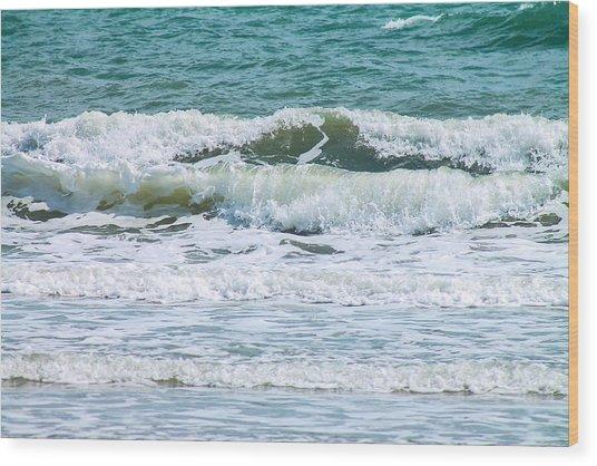 Ocean's Art Wood Print