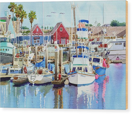 Oceanside California Wood Print