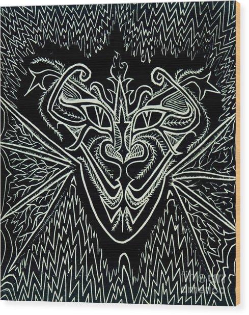 Oddity Wood Print by Coriander  Shea