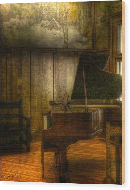 Ode To Elbert Hubbard Wood Print by Susan Kimball