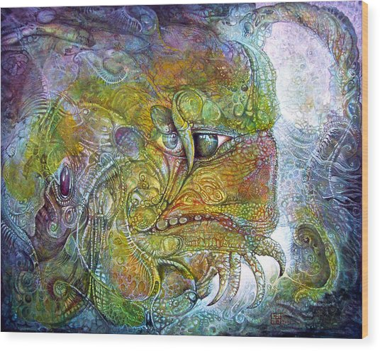 Offspring Of Tiamat - The Fomorii Union Wood Print