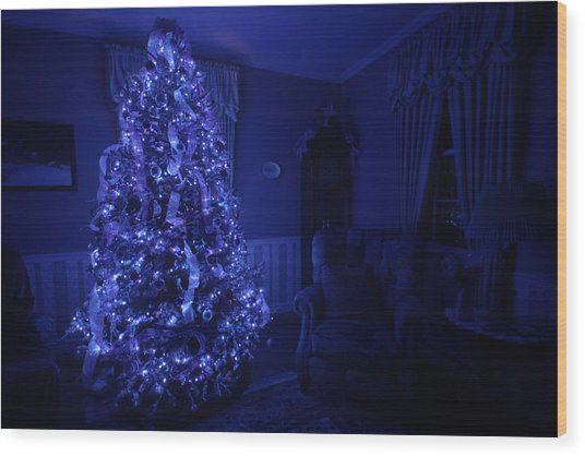Oh Christmas Tree Wood Print