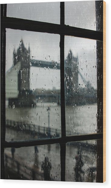 Oh So London Wood Print