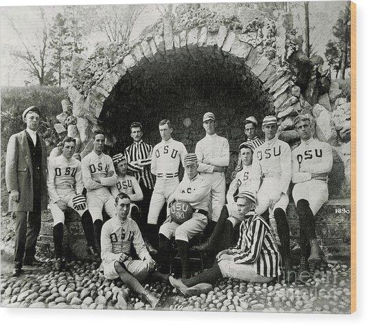Ohio State Football Circa 1890 Wood Print