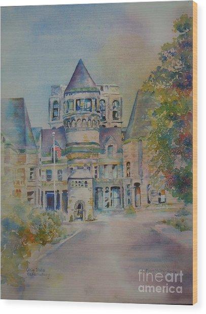 Ohio State Reformatory Wood Print