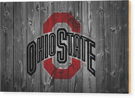 Ohio State University Wood Print