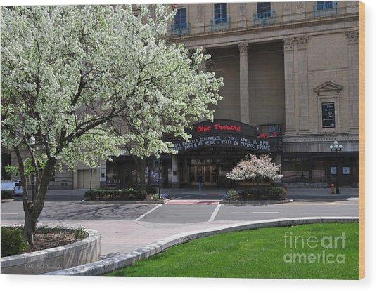 D45l42 Ohio Theatre Photo Wood Print