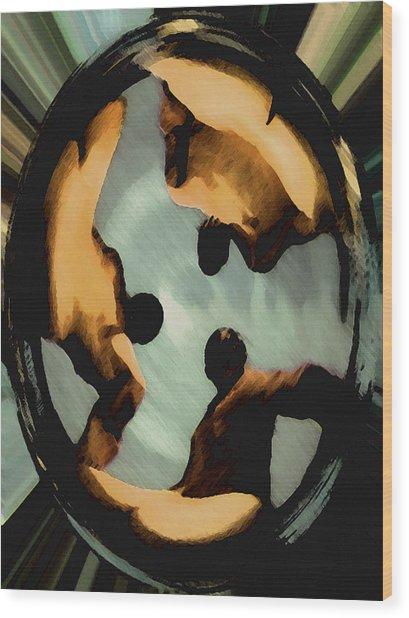 Ohm Wood Print