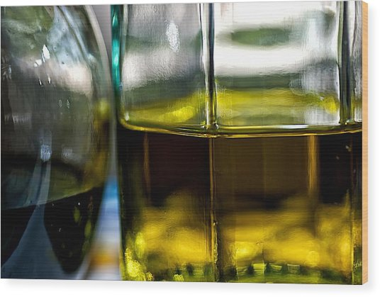Oil And Vinegar 1 Wood Print by Guillermo Hakim