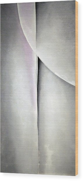 O'keeffe's Line And Curve Wood Print