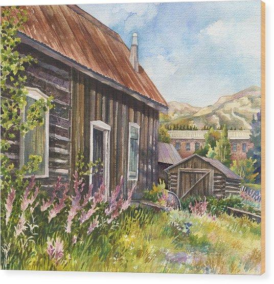 Old Breckenridge Wood Print