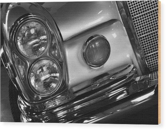Old Car Wood Print