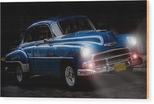 Old Classic Car I Wood Print