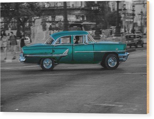 Old Classic Car IIi Wood Print
