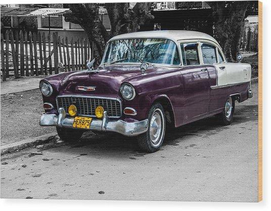 Old Classic Car Iv Wood Print