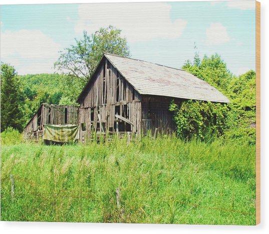 Old Farms Series 057 Wood Print