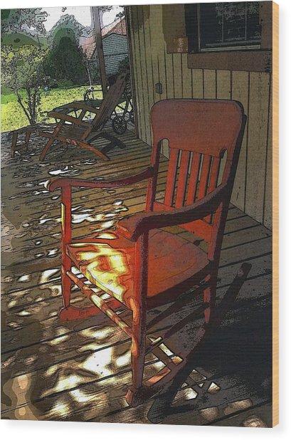 Old Friend  Wood Print